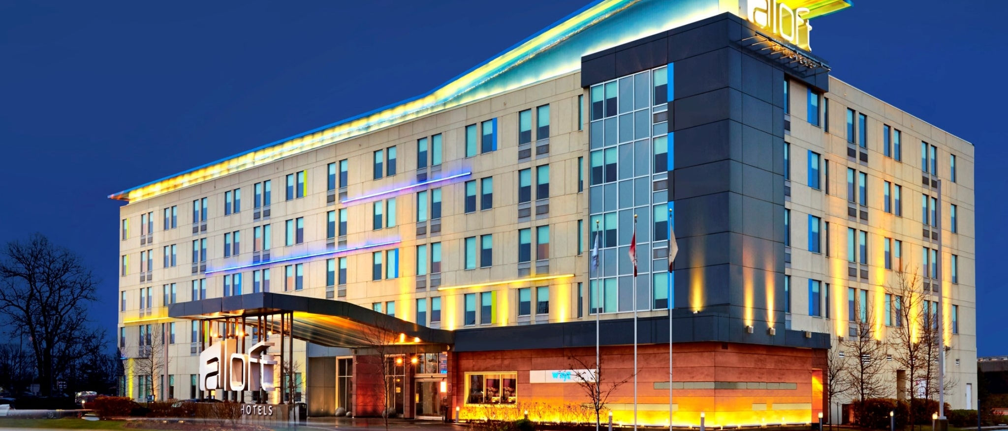 Aloft Montreal Airport - Hotel Exterior